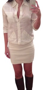 Maison Martin Margiela short dress White on Tradesy