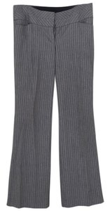Express Flare Pants Gray with white stripe