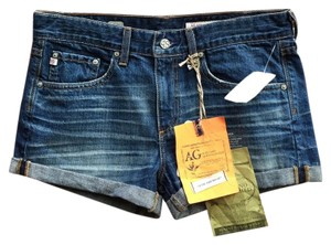 AG Adriano Goldschmied Mini/Short Shorts Blue