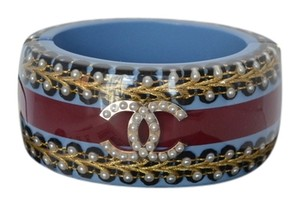 Chanel Chanel Wide Monarch Cuff