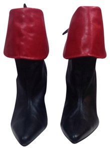 Timothy Hitsman Black / Red Boots