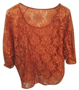 Forever 21 Top Burnt Sienna