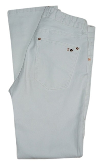 Zara Capri/Cropped Denim-Light Wash