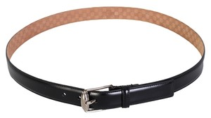 Gucci Gucci Black Leather Men's Belt
