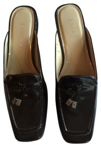 Ralph Lauren Brown Mules