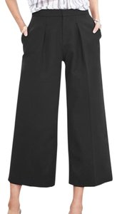 Banana Republic Wide Leg Pants Black
