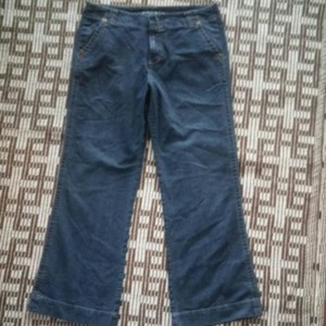 1 Madison Flare Size 14 Trouser/Wide Leg Jeans