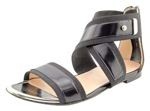 Stuart Weitzman Expo Gladiator Black Sandals