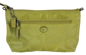 Coach Citrine/GreenYellow Travel Bag
