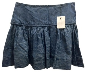 Isabel Marant Mini Skirt Blue