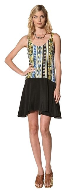 Thakoon Addition short dress Multi Ikat Drop Waist Large Slipover Skirt Cotton on Tradesy