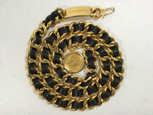 Chanel Chanel Classic Chain Leather Medallion Belt