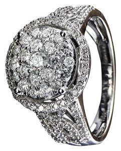 Affinity Diamond Affinity Diamond Cluster 1 Carat Total Weight Ring