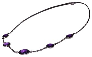 Blue Nile Amethyst Necklace In Sterling Silver