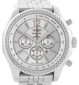 Breitling Breitling Bentley Barnato 42 Chronograph Silver Dial Mens Watch A41390