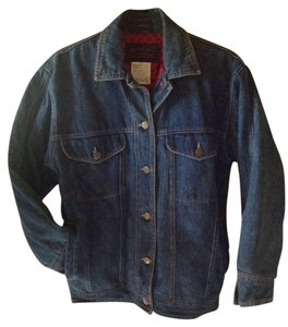Eddie Bauer Jeans Vintage Blue Denim Womens Jean Jacket
