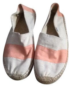 Soludos Off white and light peach Flats