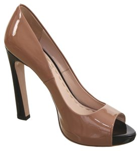 Miu Miu Black, Tan Pumps