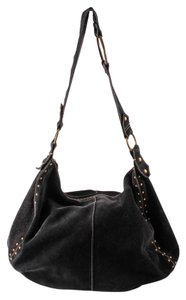 Lucky Brand Suede Stud Hobo Bag