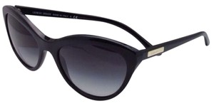 ff7d2c2d3cf Giorgio Armani New GIORGIO ARMANI Sunglasses AR 8033 5017 87 Black Cat-Eye  Frame