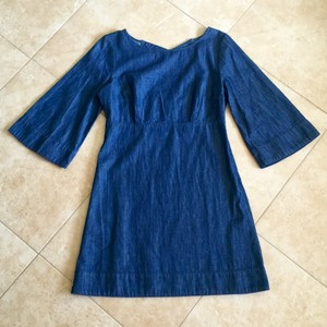 Cooperative short dress Blue Urban Outfitters Denim on Tradesy