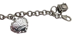 Other Sterling Prayer Box Charm Bracelet and Heart Charm