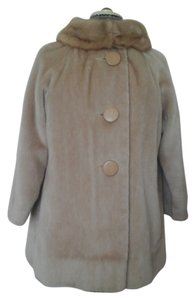 Vintage No Label Fur Coat