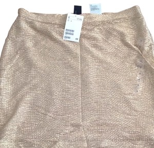 H&M Skirt Gold