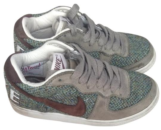 Nike Tweed Harrisontweed Harrison Sneakers Rare Green/brown Athletic