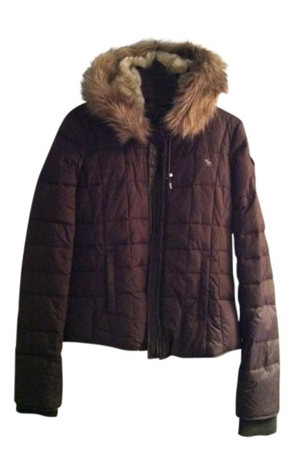 Preload https://item4.tradesy.com/images/abercrombie-and-fitch-brown-puffyski-coat-size-12-l-13768-0-0.jpg?width=400&height=650