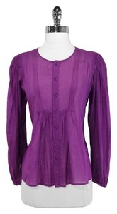 See by Chloe Cotton Top Purple