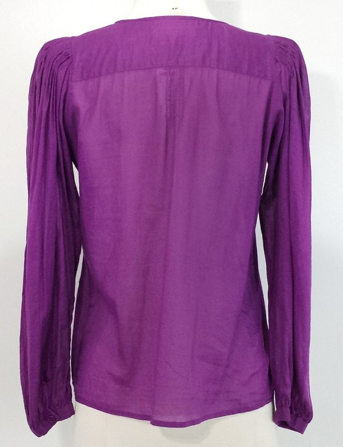 See by Chloé Cotton Top Purple