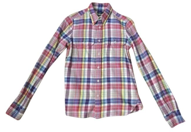 Rugby Ralph Lauren Button Down Shirt Pink