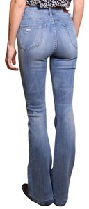 BlankNYC Bell Bottoms Blank Nyc Flare Leg Jeans-Light Wash