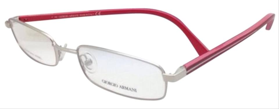 Giorgio Armani Ga 272 Ht4 52-18 Stainless Steel Silver/Red Frames ...