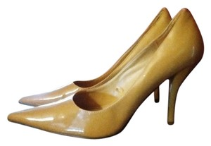 Rue 21 Mustard Canary Patent Leather Yellow Pumps
