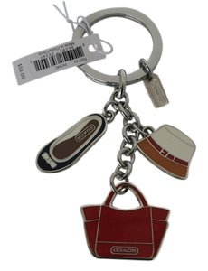 Coach Coach Beach Vacation Keychain Rare