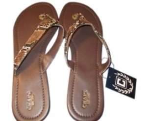 Chaps Brown Sandals