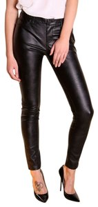 BlankNYC Blank Nyc Skinny Pants Black Faux Leather