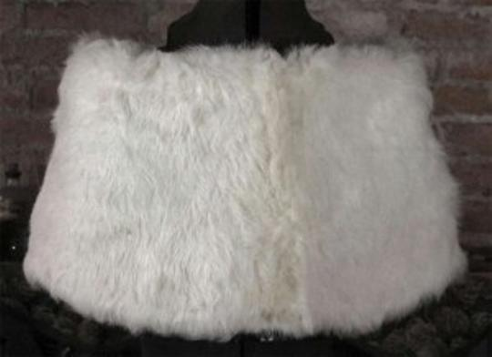 Ivory (Unbleached White Fur) Wedding Dress Size 4 (S)