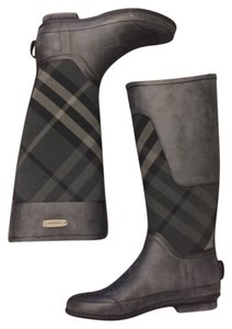 Burberry Brit Charcoal Boots