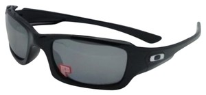 Oakley Polarized OAKLEY Sunglasses FIVES SQUARED OO9238-06 54-20 Black Frame w/ Black Iridium Lenses