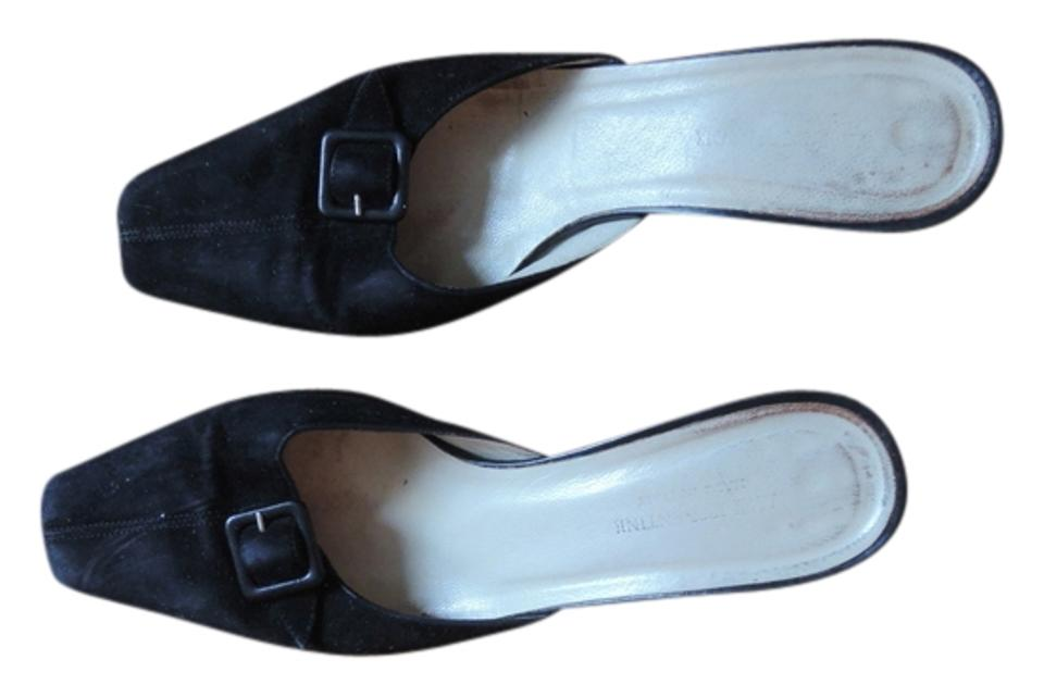 LADY Italian Black Italian LADY Suede Mules/Slides official website 81054f