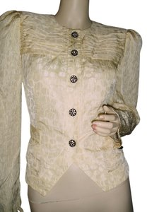 Saks Fifth Avenue beige Jacket