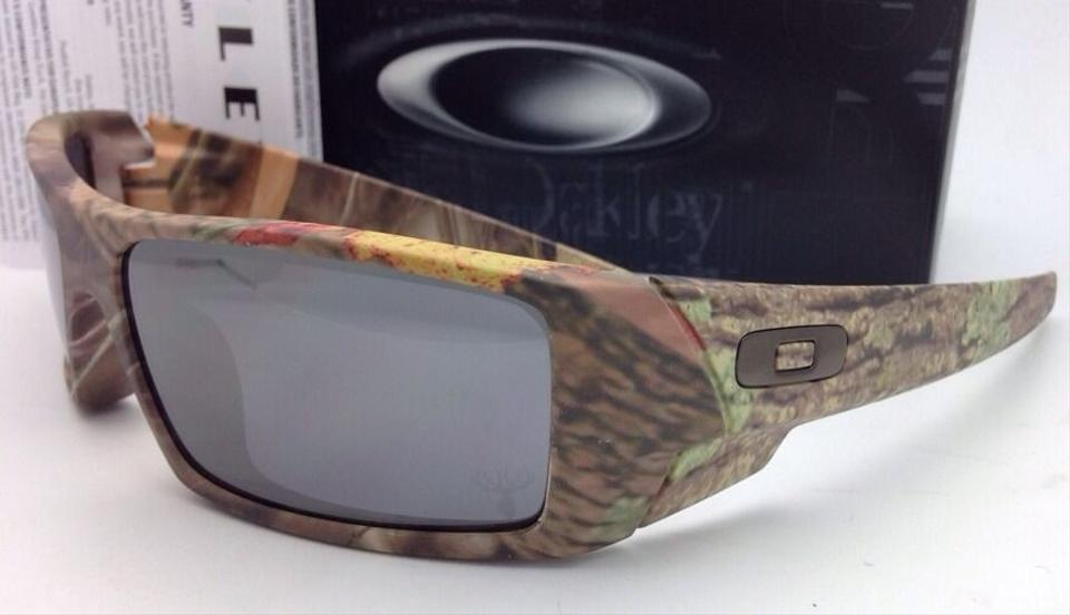 33e527b2fe1 Oakley New OAKLEY Sunglasses 03-483 GASCAN King s Woodland Camo Frame w Black  Iridium. 123456