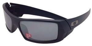 076429859fa Oakley New OAKLEY POLARIZED Sunglasses GASCAN 12-856 Matte Black Frame w  Black  Iridium
