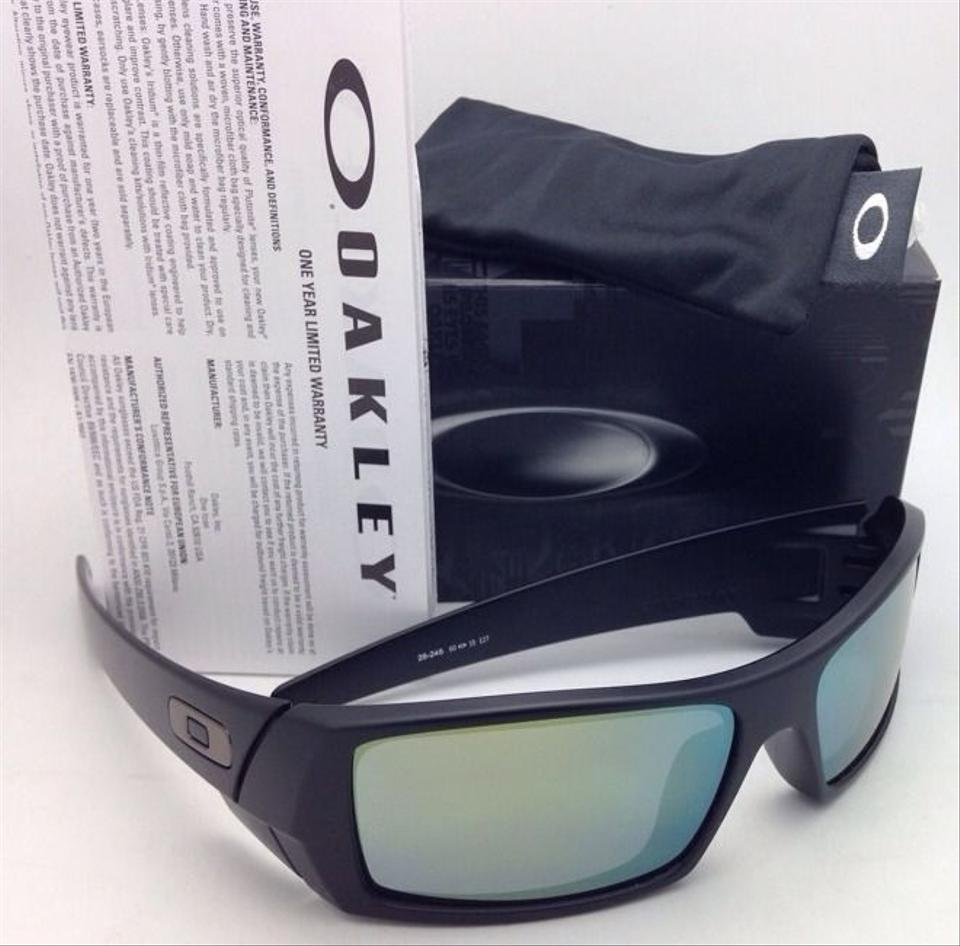 oakley new oakley sunglasses gascan 26 245 60 15 matte black frame w