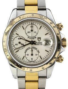 Tudor * Tiger Prince Date Chronograph Two Tone Watch
