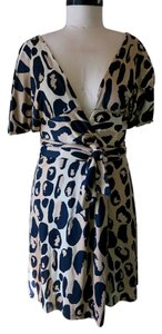 Diane von Furstenberg short dress Animal Print Dvf on Tradesy