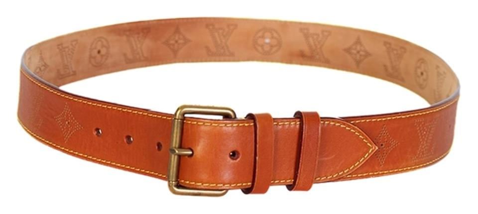 2117a4414a04 Louis Vuitton Louis Vuitton Mens Leather Belt Size 40 Image 0 ...